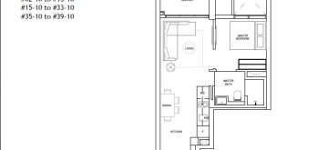 the-landmark-1-bedroom-floor-plan-type-a3-singapore