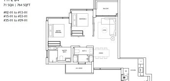 the-landmark-2-bedroom-deluxe-type-b4-singapore
