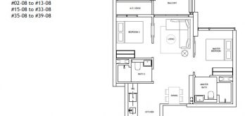the-landmark-2-bedroom-floor-plan-type-b1-singapore