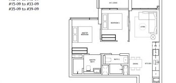 the-landmark-2-bedroom-floor-plan-type-b3-singapore